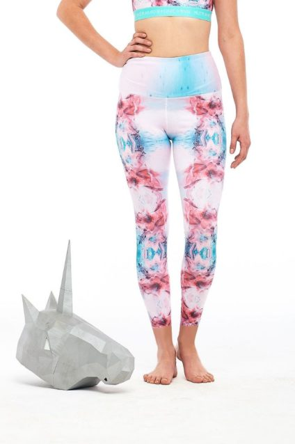 LIQUID BOUQUET YOGA LEGGING